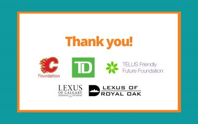 A special thank you to our feature donors during COVID-19.