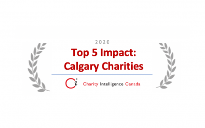 Charity Intelligence Canada names Calgary Drop-In Centre Top 5 Impact Charity in Calgary