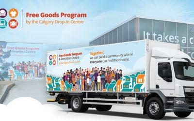 Free Goods Program at Calgary Community Cleanups!